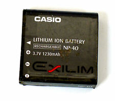 Casio NP-40 Lithium/Ion Battery for Exilim EX-Z1050, P505, P600, P700, Z30, Z40