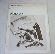 Smith & Wesson Handguns 1976 Gun Catalog