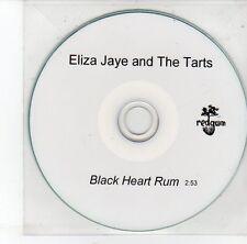 (EG925) Eliza Jaye & The Tarts, Black Heart Rum - DJ CD