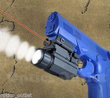 Pistol Tactical Flashlight Laser Sight Combo - Springfield Beretta Ruger Taurus