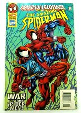 Marvel AMAZING SPIDER-MAN (1963) #404 Rare NEWSSTAND Edition FN+ Ships FREE!