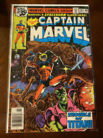 Captain Marvel Issue #59 Marvel Comics 1978 - High Grade Copy! - Free Shipping!