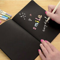 Black 56K Paper Notepad Sketch Graffiti Notebook for Drawing Painting