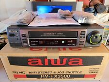 Videoregistratore VHS AIWA FX3500 STEREO HI-FI 6 TESTINE EX DEMO IMBALLATO