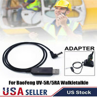 BL-5L 2.5mm USB Charger Cable For BaoFeng UV-5R/5RA Walkietalkie 3800mAh Battery