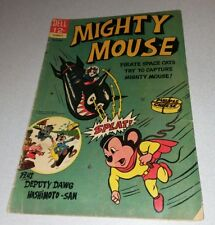 MIGHTY MOUSE #169 dell comics 1966 PIRATE SPACE CATS COVER! Silver age cartoon