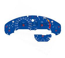 BMW Tachoscheibe für 3er E36 Benziner 260 kmh km/h M3 Blau Tachoscheiben 3602