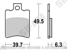 Plaquettes de frein avant Peugeot 50 LUDIX 4T 2011 à 2013 (S1065)