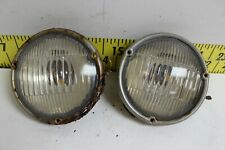 OEM GM Pair of Fog Lights Guide A-50 RH LH Lamps 1952 Cadillac (SVM53)
