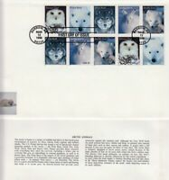 2000 Arctic Animals Sc 3292a First Day Cover Fleetwood