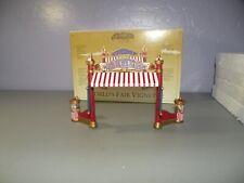 Mr. Christmas Gold Label World's Fair Vignette Entrance Ticket Gate With Box