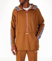Nike Sportswear Air Max Taped Tab Poly Half Zip Hoodie AJ2296 234 Msrp $100 H