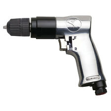 """ATD 3/8"""" Reversible Air Drill With Keyless Chuck 2143"""
