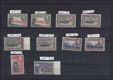 Ceylon KGVI collection MH & MNH incl. perfs SG £327.80