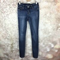 Maurices Women's Size XS Tight Jegging Skinny Stretch Denim Jeans Distressed