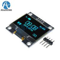 "1.3"" Blue OLED LCD 4Pin Display Module IIC I2C 128x64 3-5V Interface for Arduino"
