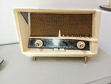 """Radio À Lampes Vintage Radiola """"Le Corbusier"""" Années 50"""