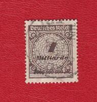 DEUTSCHES REICH (870) MI NR 325 A Pa GESTEMPELT (N GEPRÜFT) INFLA Weinbach