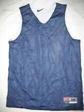 Nike 225516419 Reversible Practice Warm Up Sports Jersey Blue Womens Medium