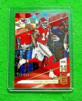 SAMMY WATKINS PRIZM RED SP#/299 KANSAS CITY CHIEFS 2019 PANINI DONURSS ELITE SP