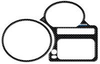 adesivo 3D CARBON LOOK per cruscotto compatibile per MOTO BMW R1200 S e R1200 ST