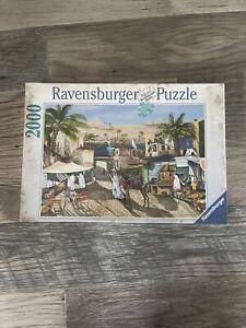 Ravensburger Pyramids Along The Nile 2000 Piece Puzzle New Sealed No. 166305
