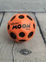 Waboba Moon Extreme Bouncing Hyper Bounce Ball. Orange and Black. Unused