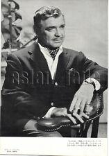 1957, Clark Gable / Giulietta Masina Japan Vintage Clippings 2es12