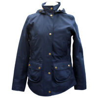 Barbour Womens Broom Waterproof Jacket - Navy - Sizes UK 8 - £179