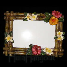 Hawaiian Hibiscus Picture Frame. Free Shipping!