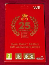 NINTENDO WII - SUPER MARIO ALL STARS 25TH ANNIVERSARY EDITION! NEW/SEALED!