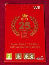 Nintendo Wii-SUPER MARIO ALL STARS 25TH Anniversary Edition! NUOVO/SIGILLATO!