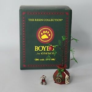 Klaus's Christmas Tree With Nick McNibble Treasure Box Peace on Earth