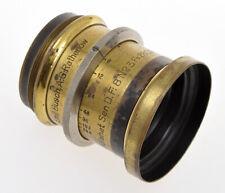Emil Bush A.G. Rathenov old brass lens Rapid Aplanat Serie D n.3 260mm F:8