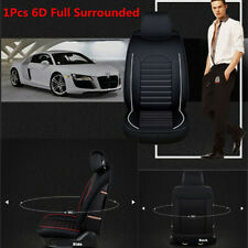 1Pcs PU Leather Full Surrounded Car Seat Cover Front Seat Cushion Mat Protector