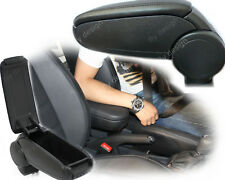 Mittelarmlehne Armlehne Ford Fiesta MK7 Schwarz Leder Armrest Accoudoir