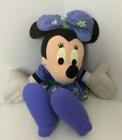 Large vintage Mattel talking Disney MINNIE MOUSE soft toy plush. 25inch tall