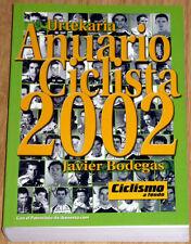 cyclisme - Annuaire Cycliste - Anuario Ciclista année 2002