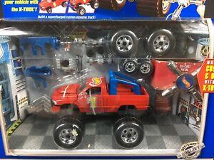 Hot Wheels MECHANIX Dodge Ram 1500 Transform Custom Kit with X-Tool NEW