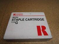GENUINE RICOH  STAPLE CARTRIDGE 410133 320R-AM STAPLE TYPE G NEW IN BOX