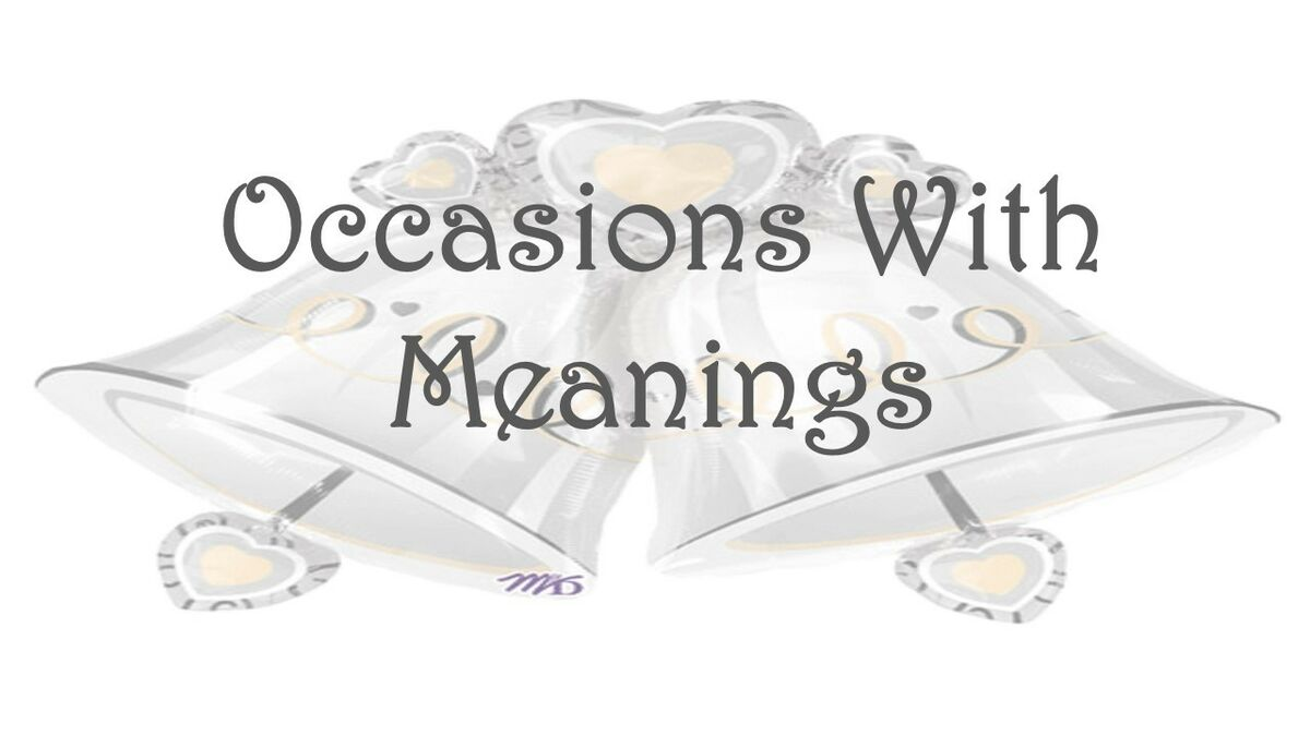Occasionswithmeanings