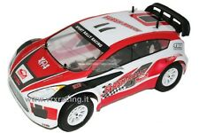 R0161 CARROZZERIA FLASH RALLY 1/10 ON-ROAD VERNICIATA COMPLETA KIT ADESIVI VRX
