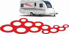 2x Wohnwagen Aufkleber Wohnmobil Autoaufkleber Caravan Sticker 120cm Farbwunsch
