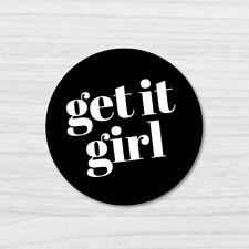 GET IT GIRL STICKER DECAL Pop Culture Laptop Phone Car Skateboard Vinyl 0826SZ