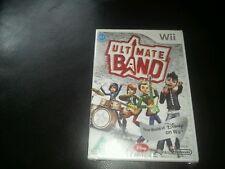 Disney Ultimate Band Nintendo Wii Jeu Neuf Scellé U Note