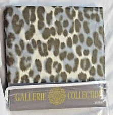 Leopard Print Zanzibar Shower Curtain Saturday Knight