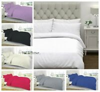 LUXURY 100% EGYPTIAN COTTON 300 500 800 1000 THREAD COUNT DUVET COVER SET SMOOTH