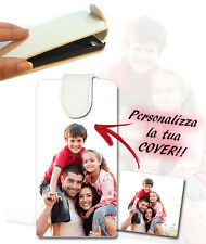 CUSTODIA FLIP COVER CASE FOTO PERSONALIZZATA PER CELLU SAMSUNG GALAXY CHAT B5330