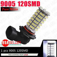 Pure White 9005/HB3 120SMD Led Bulbs Car Fog/Driving/DRL Lights H10 9140 9050
