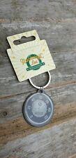 Vespa speedo tachometer round keyring Design. official merchandise.
